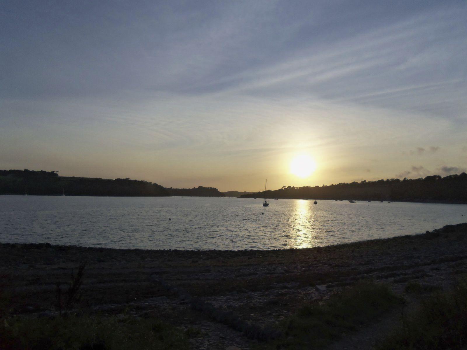 Helford sunset - Chris
