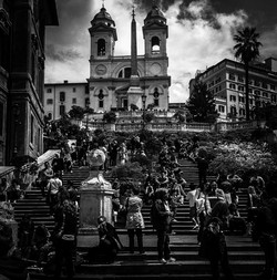 Mono Spanish Steps - Claire