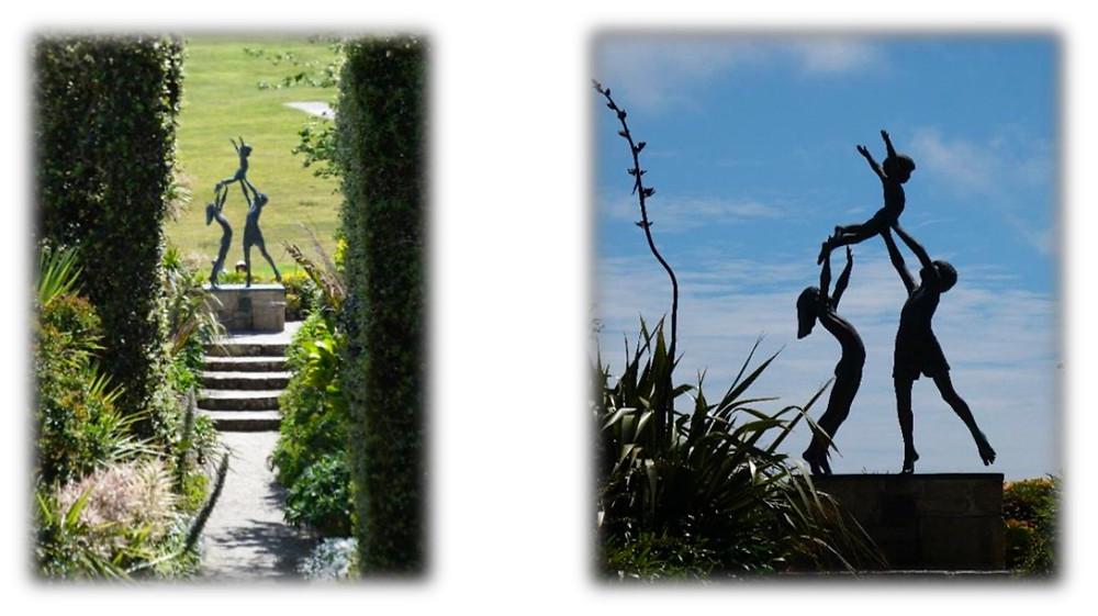 """""""Children"""", Tresco Abbey Gardens."""
