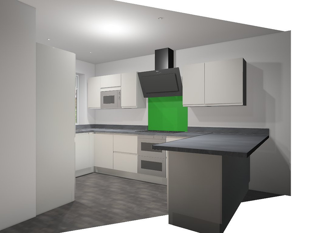 computer generated kitchen 2