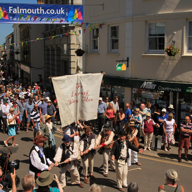 A Cornish event - Falmouth Sea Shanty Pa