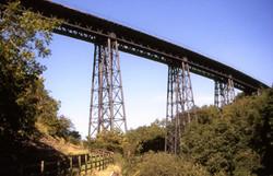 Iron Railway Bridge - Raymond