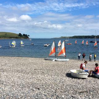 A Cornish event - A  Durgan Regatta - Ja