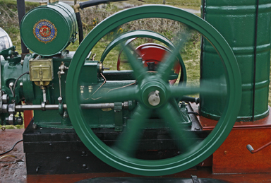 Engine Flywheel - Raymond