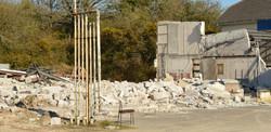 Demolition of Monty's Garage - Mandy