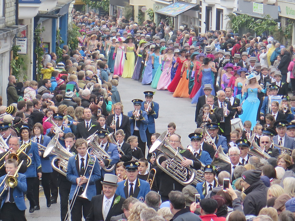 Helston Flora Day Midday dance