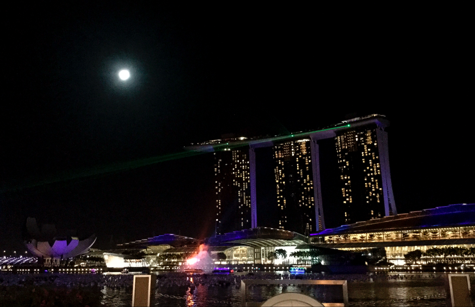 Singapore by night - Claire