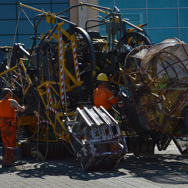 A Cornish event - Man Engine Down - Mand
