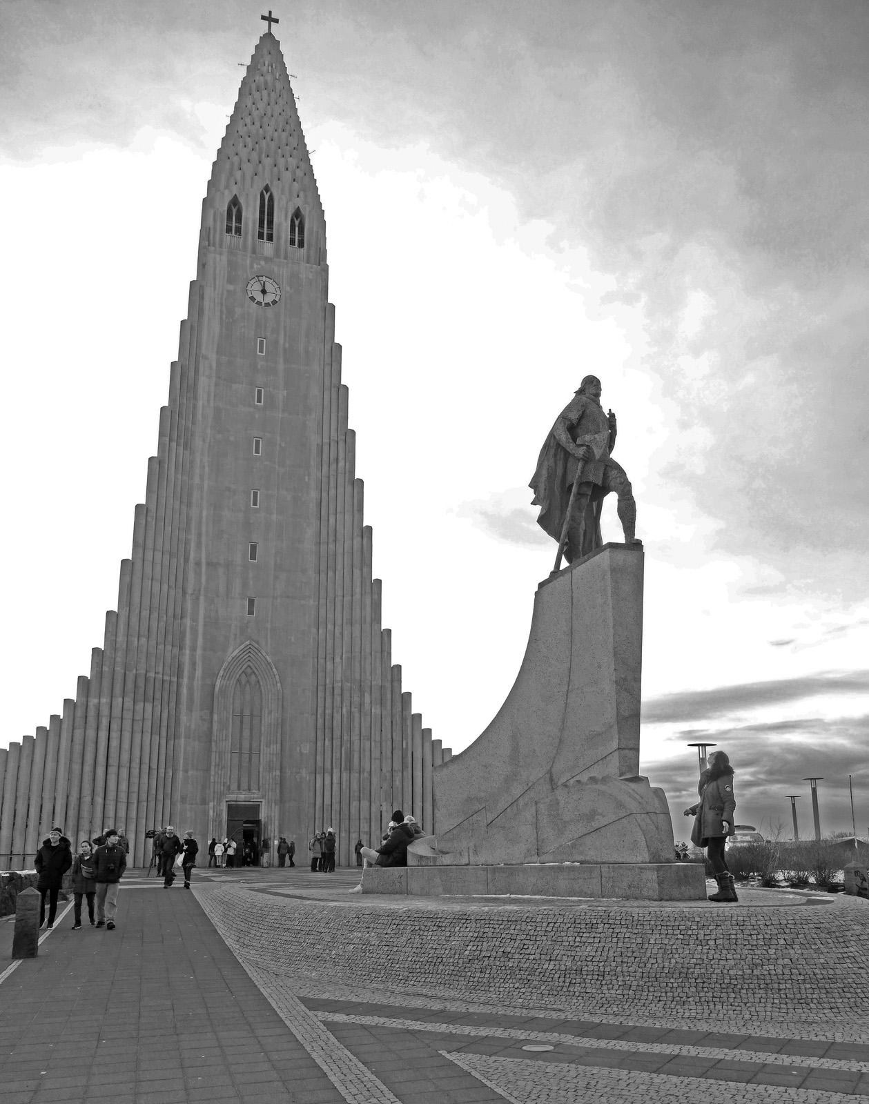 KF2 Mono - Reykjavik Cathedral - Ann
