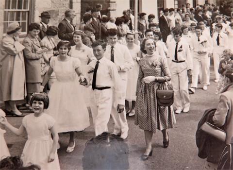 1960 Cross Street. Leading my school.