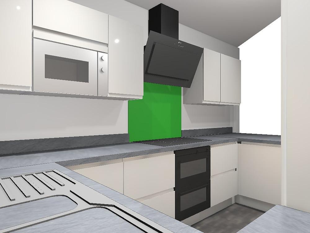 computer generated kitchen 1