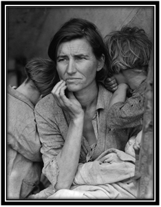 "Dorothea Lange – ""Migrant Mother"""
