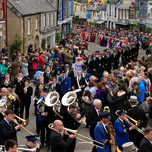 A Cornish event -  Winner Helston Flora