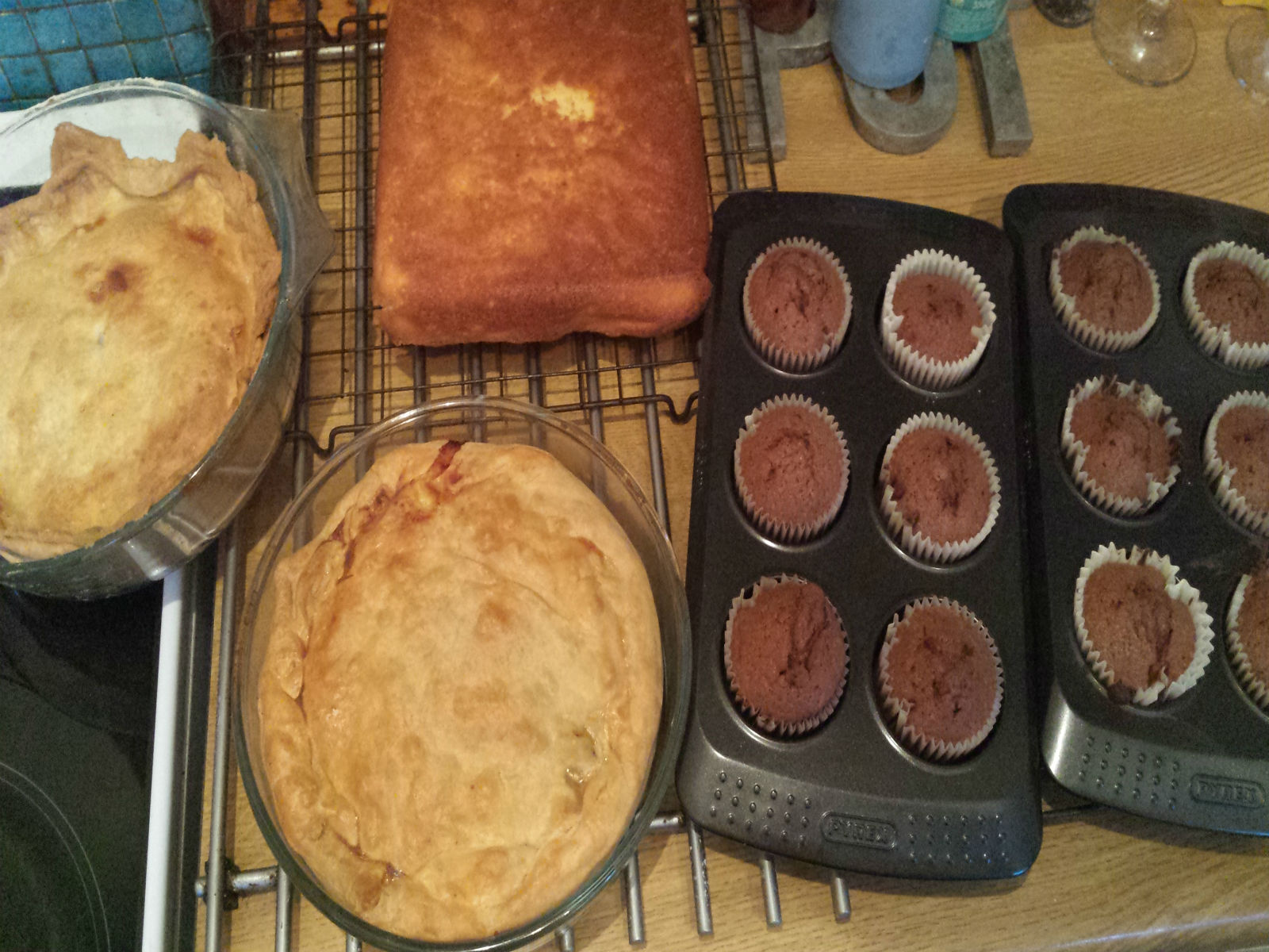 Cake and pie making - Chris