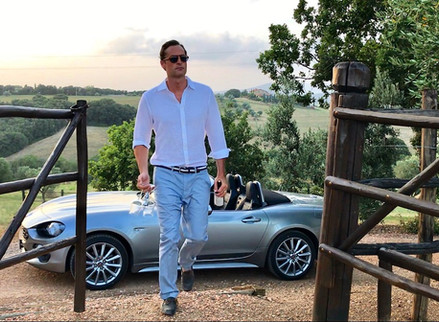 Shooting in Tuscany