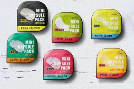 Капсульная очищающая глиняная маска Scinic Mini Capsule Pack, 8 мл