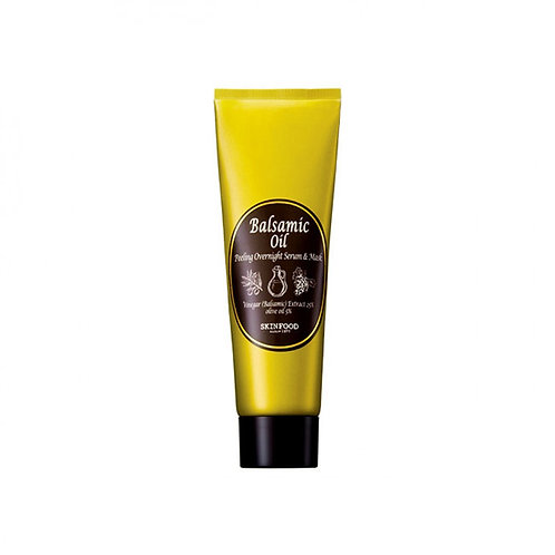 Ночная сыворотка-маска SKIN FOOD Balsamic Oil Peeling Overnight Serum & Mask Корейская косметика ULITKA-koreashop Москва