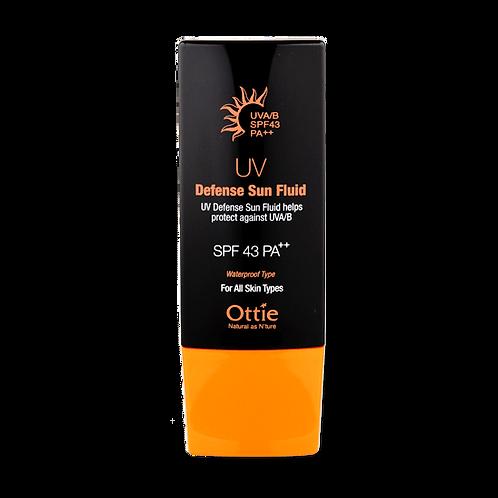 Солнцезащитный крем Ottie UV Defense Sun Fluid SPF43 / PA++, 50 мл