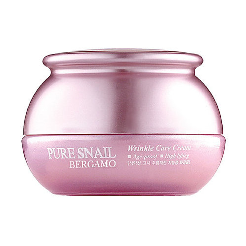 Антивозрастной крем с муцином улитки Pure Snail Wrinkle Care Cream
