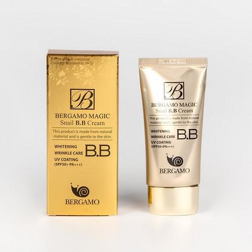 ББ крем тройного действия Bergamo Magic Snail BB Cream SPF 50 PA+++, 50мл