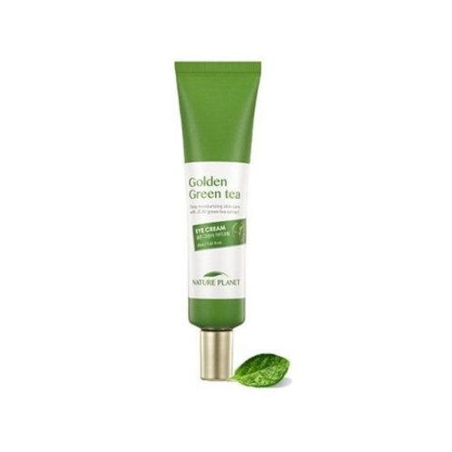 Крем для кожи вокруг глаз с зеленым чаем SCINIC Golden Green Tea Eye Cream
