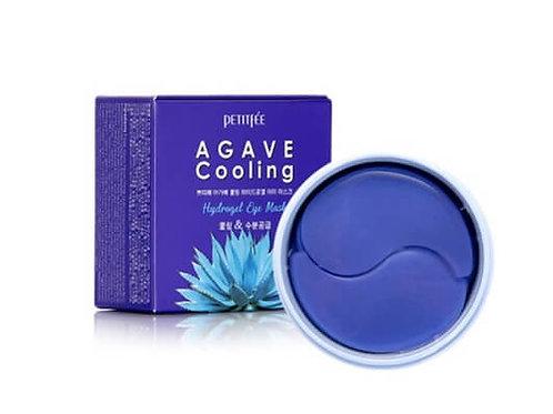 Гидрогелевые патчи с экстрактом агавы Petitfee Agave Cooling Hydrogel Eye Mask