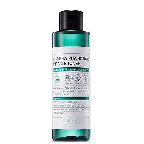 Кислотный тоник Some By Mi AHA-BHA-PHA 30 Days Miracle Toner