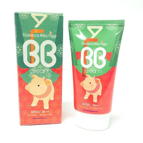 ББ-крем с SPF50+/PA+++ Elizavecca Milky Piggy BB Cream