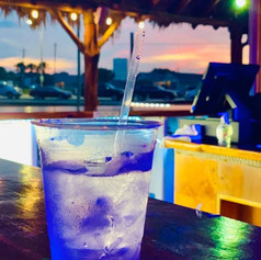 Cold drinks by the beach