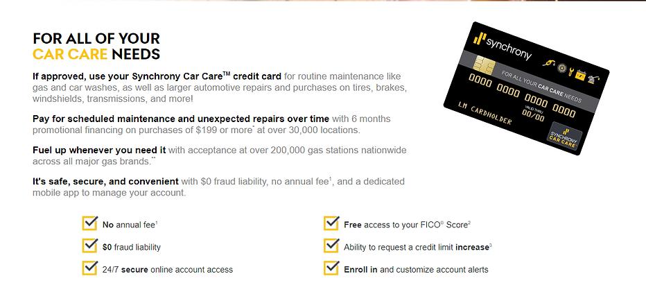 Car Care Financing at Best Automotive repair shop