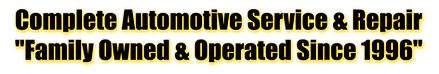 Best Auto Repair Shop is family operated