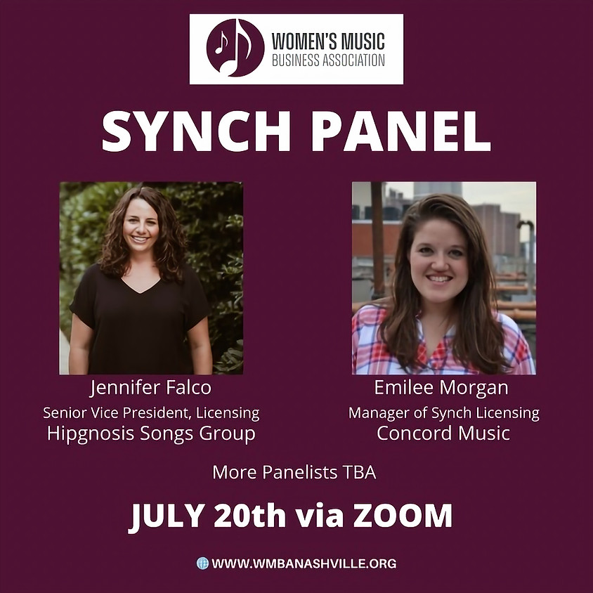 July Summer Series Synch Panel