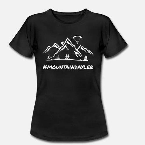 Damen Shirt Mountain Days Front