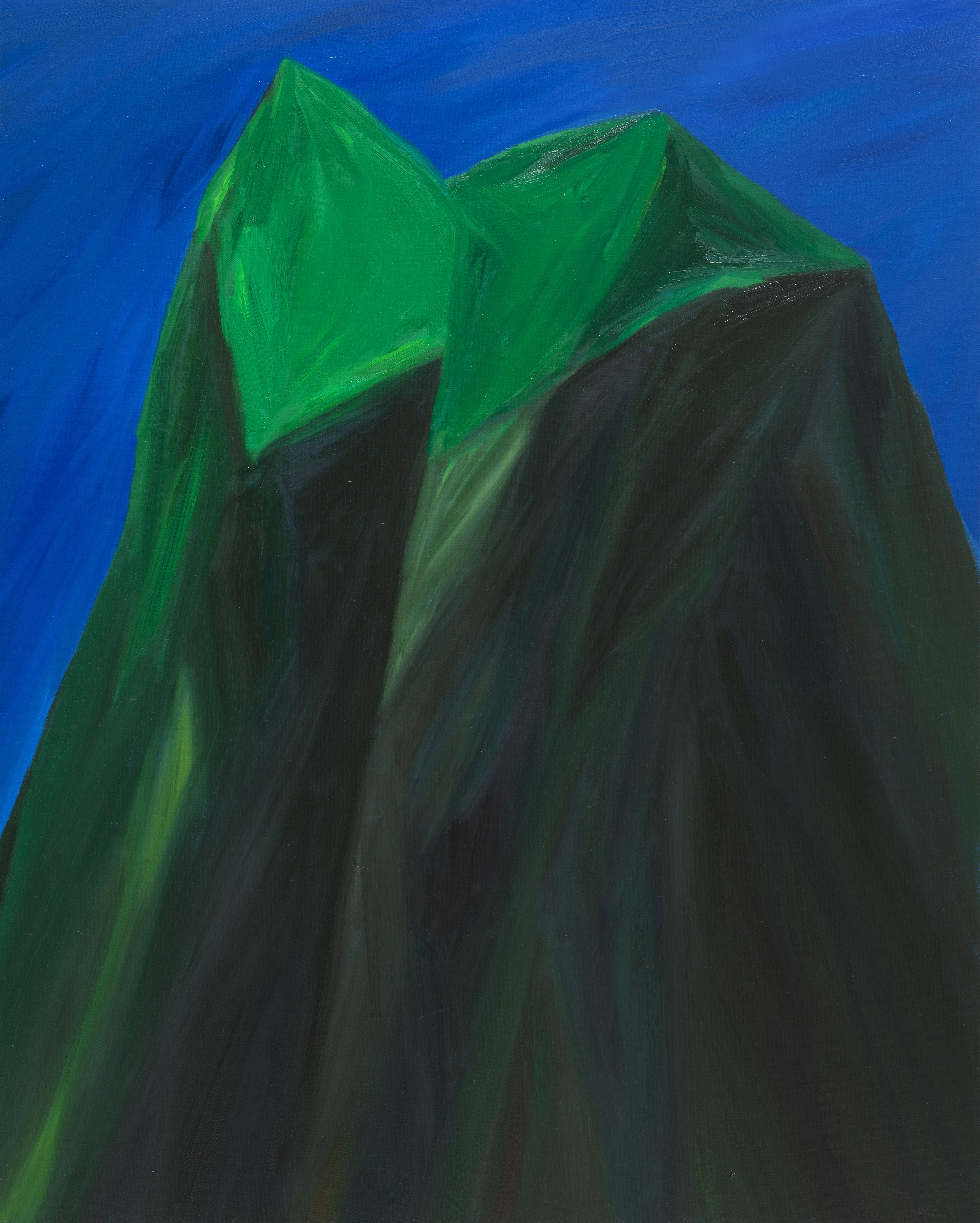 산을 자른 단면