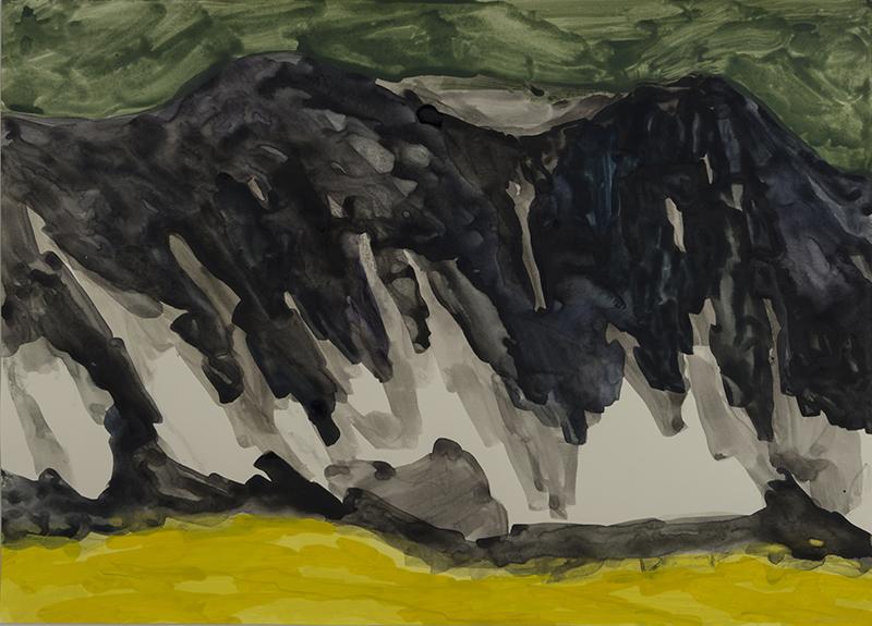 검은 모래 언덕