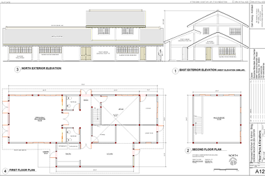 floor plan for new temple buildings