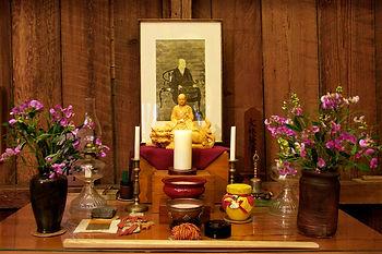 Zen Buddhist altar
