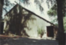 Old photograph of Sonoma Mountain Zen Center zendo