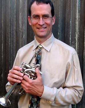 Pete Estabrook on trumpet