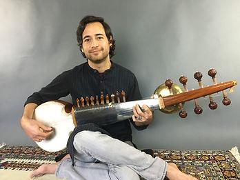 Manik Khan on Sarod