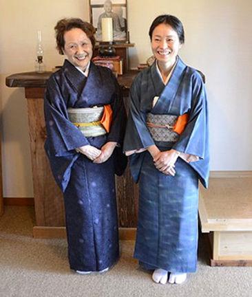 Eiko Mouri Sensei and Kashin Kwong