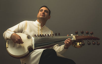 Manik Khan on Sarod