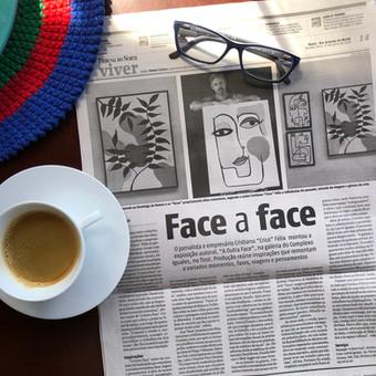 """Exposição """"A Outra Face"""" é destaque na Tribuna do Norte"""