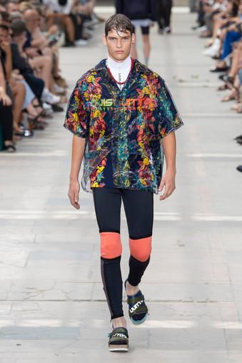 Cores vibrantes de Ami e Luis Vuitton