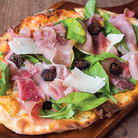 Proscuitto Rocket Pizza