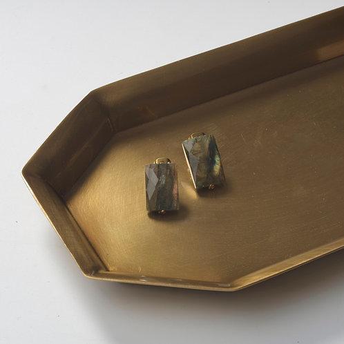 Stone Earring (Labradorite)