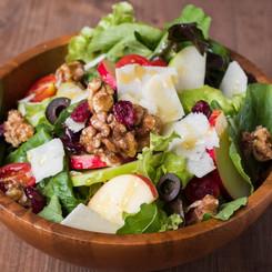 Apple Cranberry & Walnut Salad