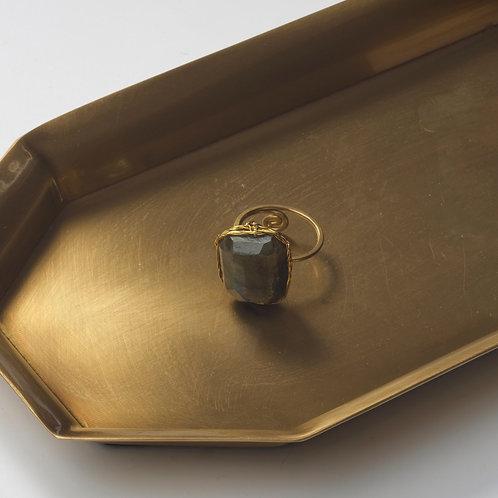 Stone Ring (Labradorite)