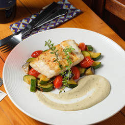 Sea Bass with Provençal Vegetables