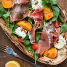Stone Fruit, Burrata & Parma